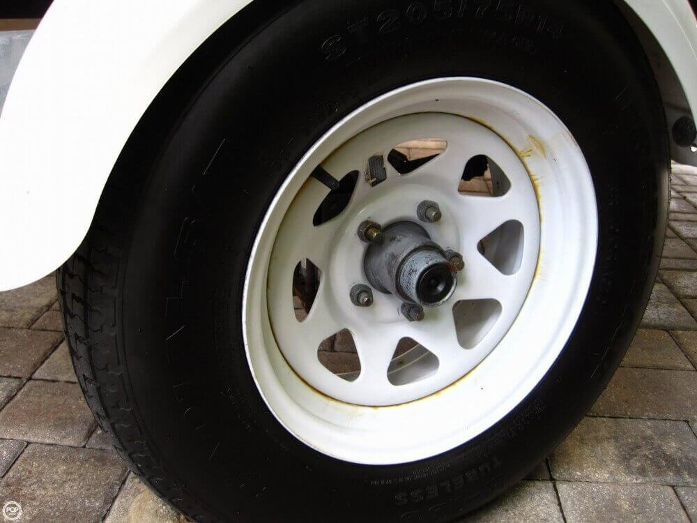 Both Wheels And Tires Are New