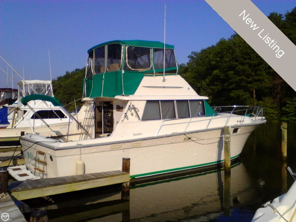 Used Silverton Boats For Sale in Maryland by owner | 1989 Silverton 37