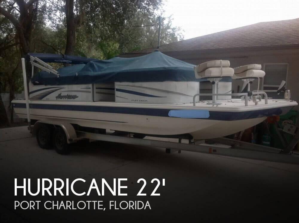 2006 Hurricane 226RE Fun Deck Fishing - Photo #1