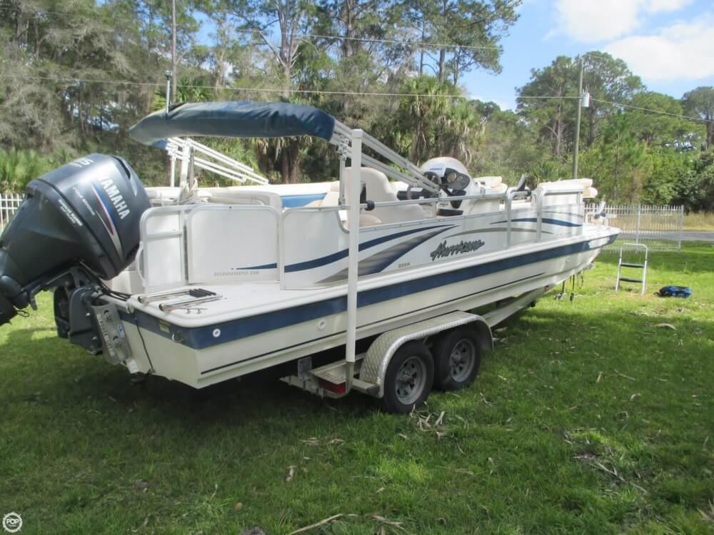 2006 Hurricane 226RE Fun Deck Fishing - Photo #16