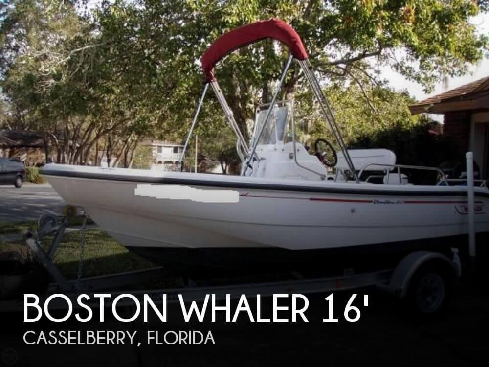 2002 Boston Whaler 160 Dauntless - Photo #1