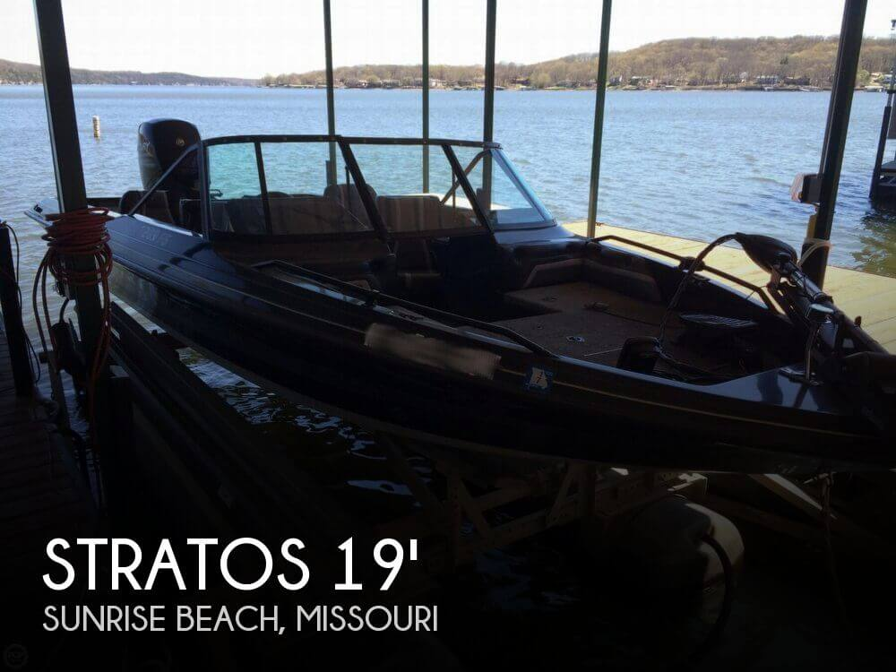 1990 Stratos 289 FS - 2012 Mercury 150 - Photo #1