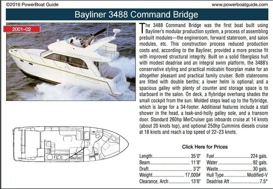 2001 Bayliner 3488 Command Bridge - Photo #10