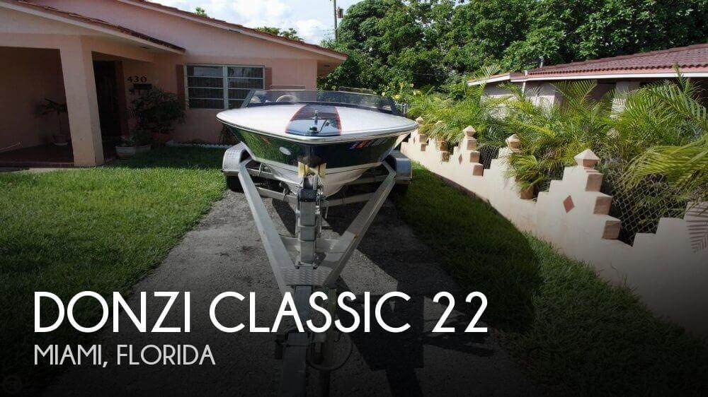 2003 Donzi Classic 22 - Photo #1