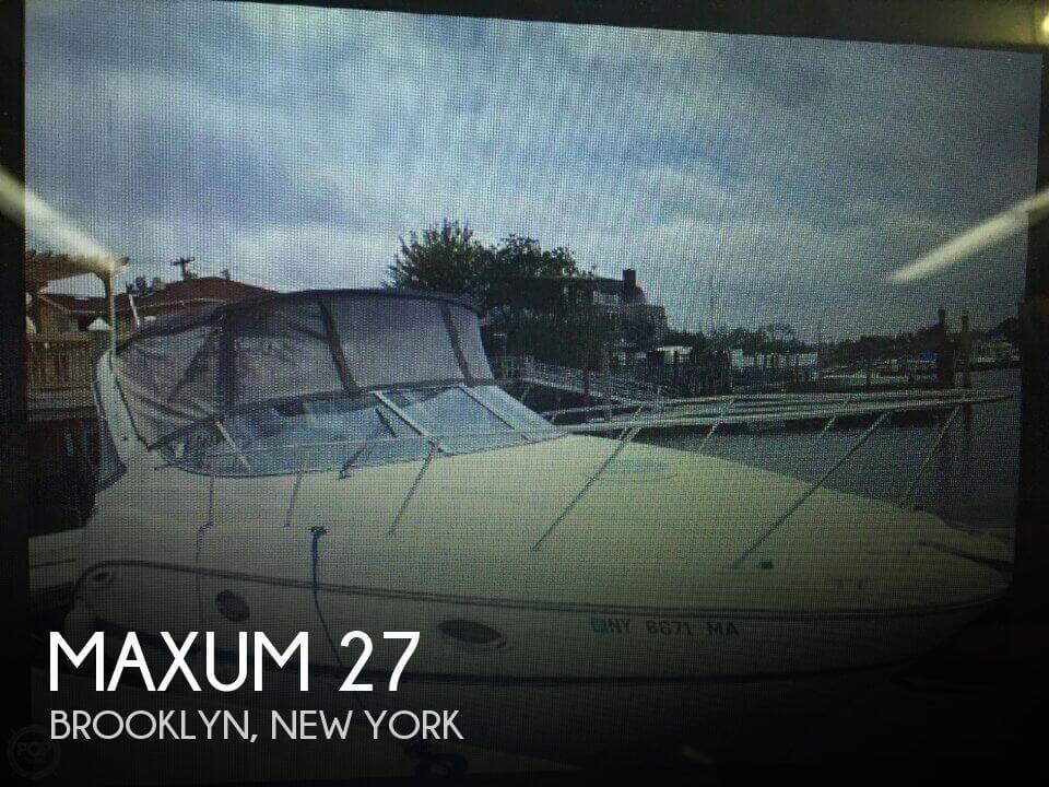 2004 Maxum 27 - Photo #1