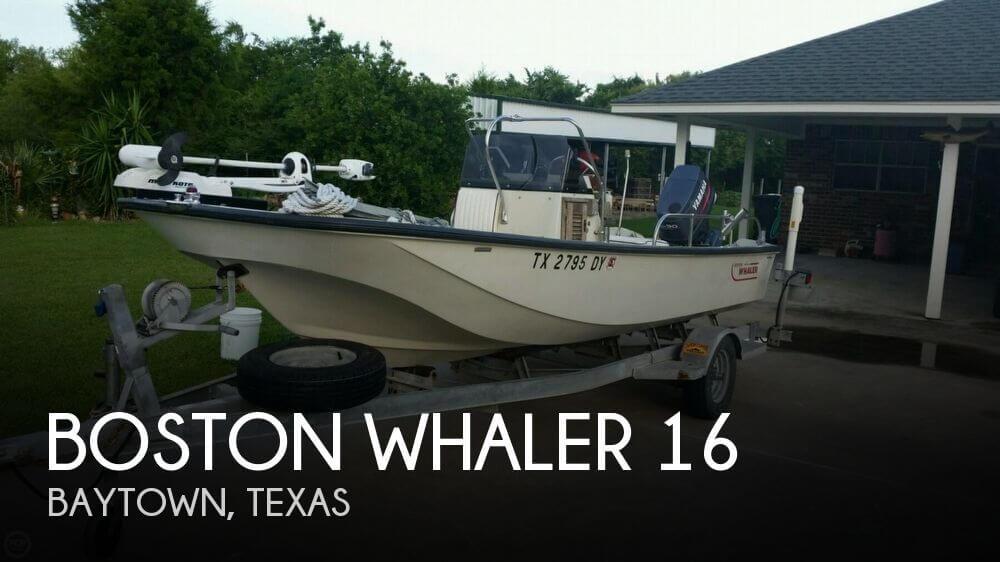 1987 Boston Whaler 16 - Photo #1