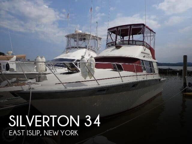 1985 Silverton 34 - Photo #1