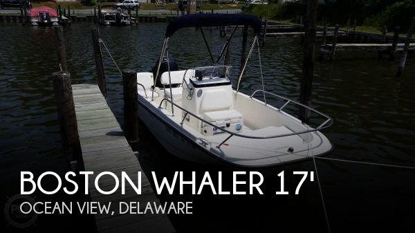 2015 Boston Whaler 17 - Photo #1