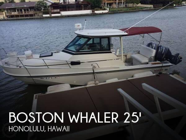 1986 Boston Whaler 25 - Photo #1