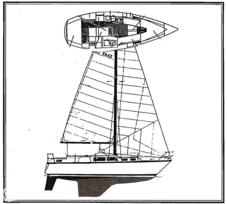 1982 S2 Yachts 30 - Photo #9