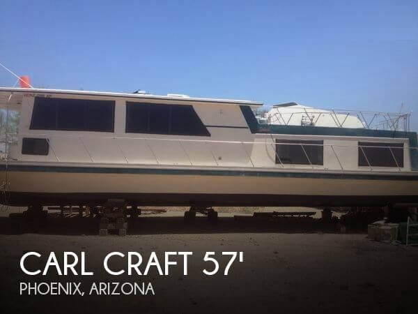 1980 Carl Craft 57 House Boat