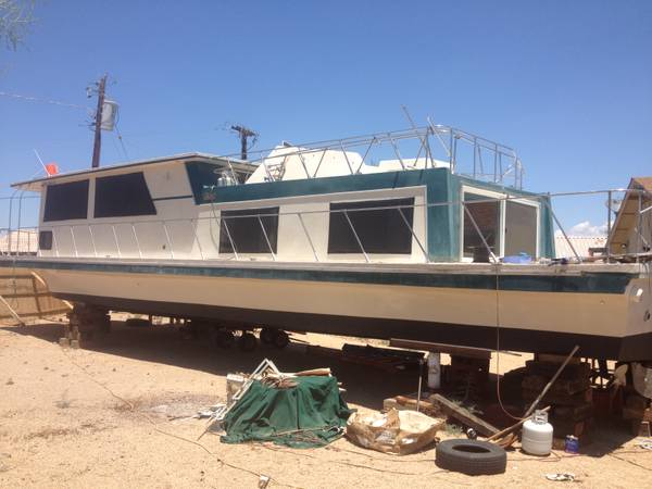 1980 Carl Craft 57 House Boat - Photo #6