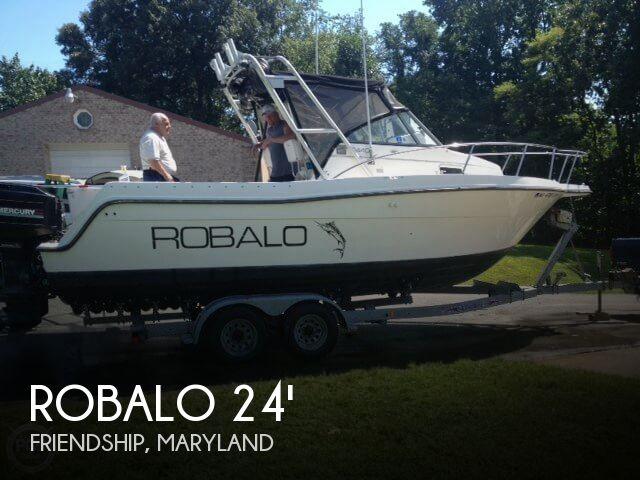 1993 Robalo 244 Sport Fisherman - Photo #1