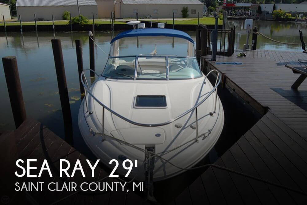 2001 Sea Ray 290 Sunsport - Photo #1