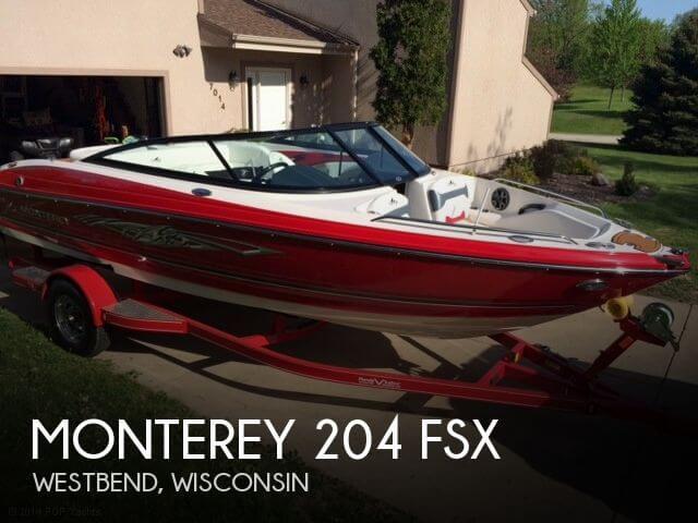 2014 Monterey 204 FSX - Photo #1