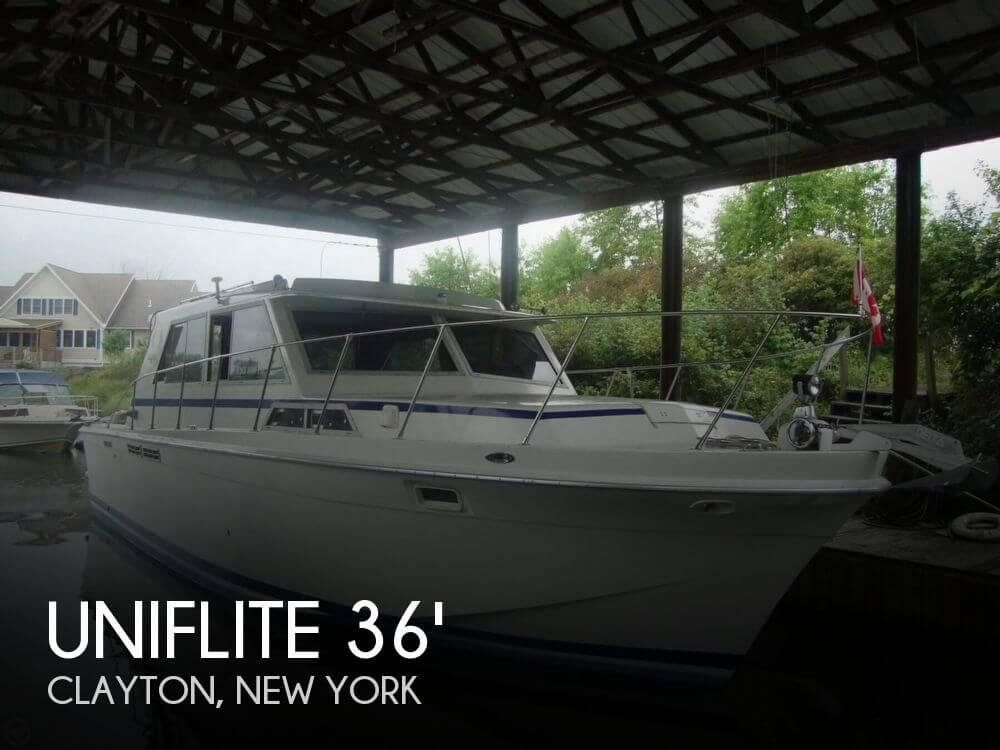 1979 Uniflite 36 Sport Sedan - Photo #1