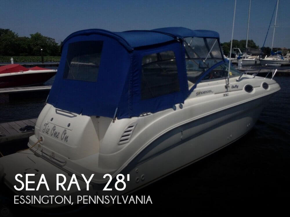 2001 Sea Ray 260 Sundancer - Photo #1