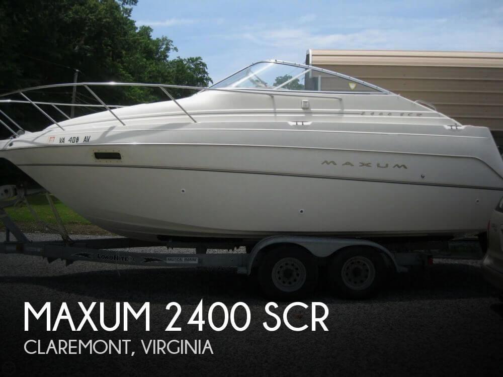 1999 Maxum 2400 SCR - Photo #1
