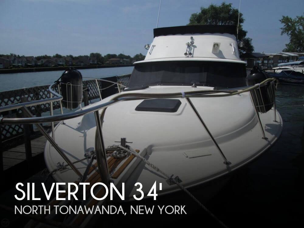 1981 Silverton 34 Convertible - Photo #1