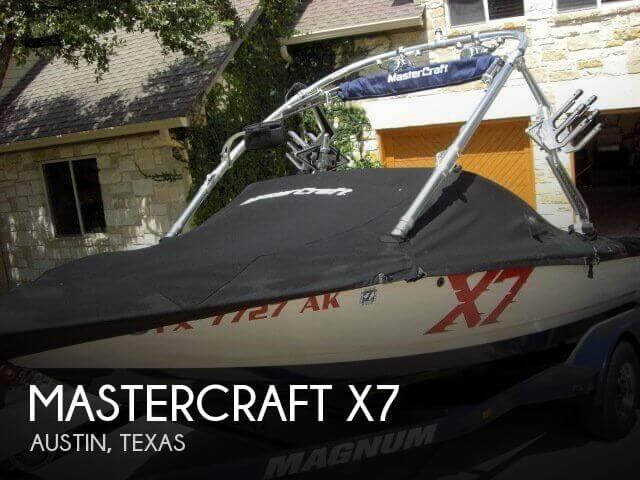 2007 Mastercraft X7 - Photo #1