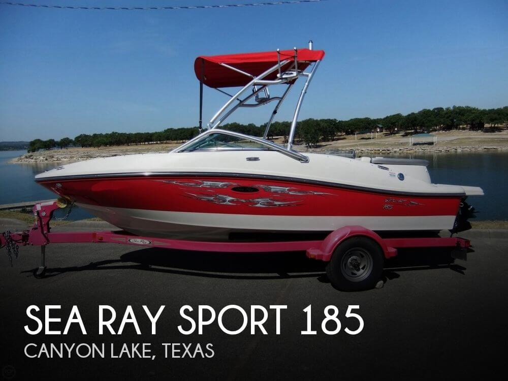 2008 Sea Ray Sport 185 - Photo #1