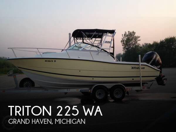 2008 Triton 225 WA - Photo #1