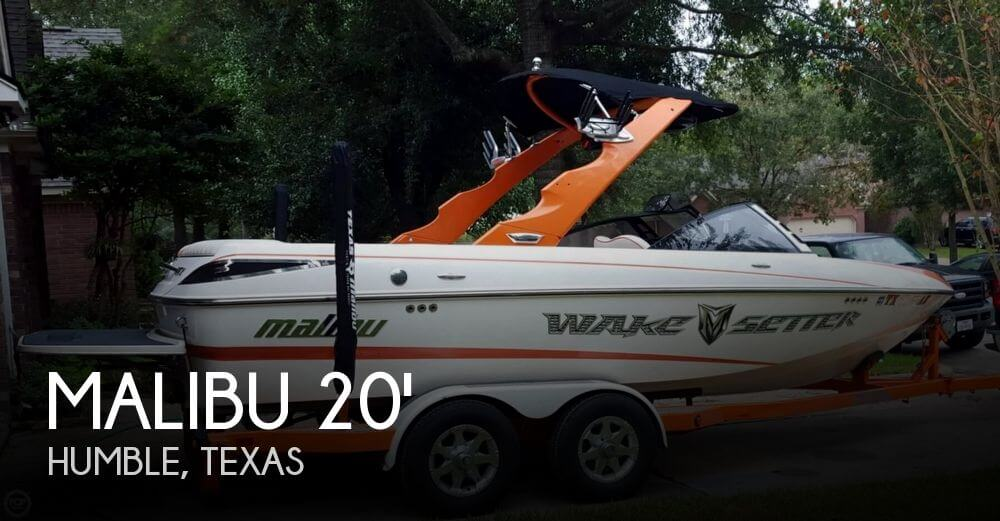 2009 Malibu 20 VTX Wakesetter - Photo #1