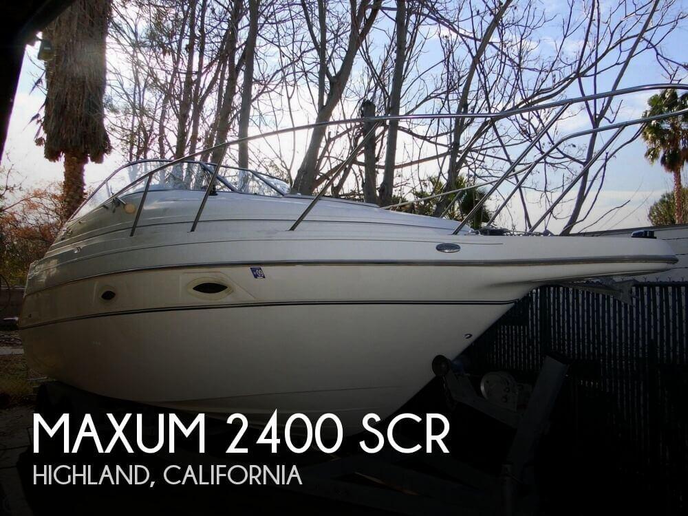 2002 Maxum 2400 SCR - Photo #1