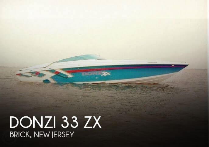 1998 Donzi 33 ZX - Photo #1