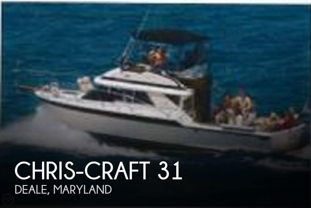 1988 Chris-Craft 31 - Photo #1