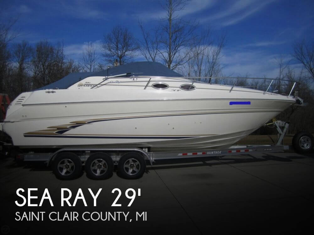1998 Sea Ray 270 Sundancer - Photo #1